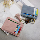 Women Faux Leather Mini Pendant Card Holder Coin Purse Keychain Wallet Novelty