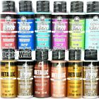 1 Metallic or Extreme Glitter Acrylic Paint FolkArt 2oz Folk Art