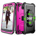 For Samsung Galaxy J3 Emerge/Prime/Luna Pro Phone Cover Case+Holster Clip Stand