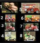Clay Magic Truck or Truck w/ Insert 4 U 2 Pick From Unpainted Ceramic Bisque  image