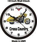 2014 VICTORY CROSS COUNTRY WALL CLOCK-FREE US SHIPPING