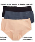 SIZES / COLORS Calvin Klein Invisibles Hipster 3-Pack