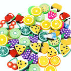 Summer Fruit Polymer Clay Filler 10g/Pack,Clay Slices Charms DIY Nail Bows image