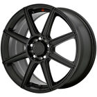 "Motegi MR142 15x6.5 4x100/4x4.5"" +40mm Satin Black Wheel Rim 15"" Inch $120.0 USD on eBay"