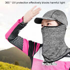 Outdoor Cycling Fishing Sun Protection Hood Face Neck Gaiter with Hat Brim Nove