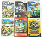 Wii Mario Games - Party 8 9/Paper/Galaxy 2/New Super bros etc  **Choose a Game**