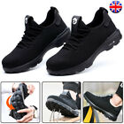 Mens Steel Toe Cap Lightweight Safety Shoes Work Boots Sports Hiking Trainers...