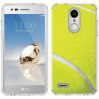 for LG Tribute Dynasty/Empire(Clear) Slim Flexible TPU Skin Phone Case Cover-A