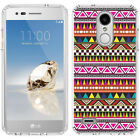 for LG Tribute Dynasty/Empire(Clear) Slim Flexible TPU Skin Phone Case Cover-D5