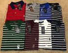 NEW POLO RALPH LAUREN SOFT TOUCH CLASSIC FIT MENS STRIPED SHIRT MSRP 8500