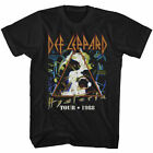 Def Leppard Hysteria Tour 1988 T Shirt Mens Licensed Rock Band Tee Retro Black image
