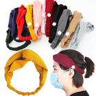 Kyпить US Headband Headwrap With Buttons For Face Mask / Ideal For Nurses Ear Protector на еВаy.соm