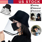 Face Shield Transparent Hat Splash Dust Proof Protection Cover Anti Saliva Cap
