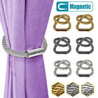 2/4/6/8PCS Strong Magnetic Curtain Tiebacks Tie Backs Buckle Clips Holdbacks US