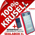 Krusell Sealabox XL Waterproof Mobile Smart Phone Case Cover Pouch Underwater
