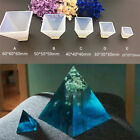 Pyramid Silicone Mould Diy Resin Decorative Mold Craft Jewelry Making Mold Ib