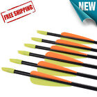Youth Practice Arrows Archery Recurve Bows Hunting 26 28 30 inch High Quality