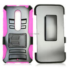 For Motorola Moto X Style Pure Edition Rugged Hard Phone Case Belt Clip Holster
