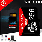 KRECOO Micro Memory Card Class10 Flash HC 100MB/S Fast TF Camera Phone Car NEW