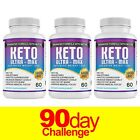 Keto Diet Pills 1200mg MAX BHB Advanced Weight Loss & Ketosis Burn Boost Energy