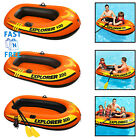 Kyпить Inflatable Children Boat 1/2/3 Person Airblown Swimming Pool Lake Kids Swim Boat на еВаy.соm