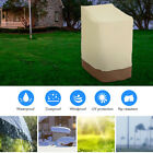 Waterproof High Back Chair Cover Outdoor Patio Garden Furniture Protection Yards
