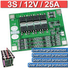3s 25a Li-ion Lithium Battery Protection 18650 Charger Pcb Bms Board Balance