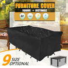 Au 9 Size Waterproof Furniture Cover Outdoor Garden Yard Patio Table  +