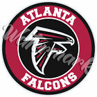 Atlanta Falcons Circle Logo Sticker / Vinyl Decal 10 sizes!! $6.0 USD on eBay