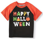Girls Boys Halloween T-Shirts 2T 3T 4T Short Sleeve T Shirt Top Dinosaur Bat Cat