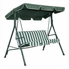 """Swing Top Cover Canopy Replacement Porch Patio Outdoor Seat Furniture 75""""x52"""""""