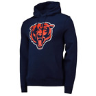 Chicago Bears NFL Men's Iconic Primary Colour Logo Pullover Hoodie - New