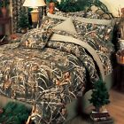 Max 4 Camouflage Bedding Set Licensed Realtree Comforter Shams Sheets Curtains