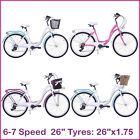"""26"""" Women Bike Ladies Bicycle City 26"""" 6-7speed Multiple colours Frame 17"""""""
