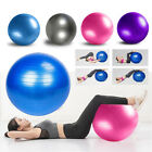55/65/85 Yoga Half Ball Exercise Trainer Fitness Balance Strength Gym W/Pump USA image