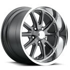 "US Mags U111 Rambler 15x7 5x4.5"" +1mm Textured Grey Wheel Rim 15"" Inch $196.24 CAD on eBay"