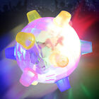 1x Jumping Flashing Dog Ball LED For Dogs Toys Joggle Vibrating Changing Color