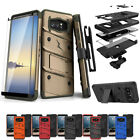 FOR SAMSUNG GALAXY NOTE 8 ZIZO BOLT ARMOR HEAVY DUTY HOLSTER RUGGED CASE COVER