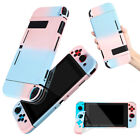 Shell Console Case Cover PC Protective Gradient Detachable For Nintendo Switch