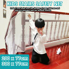 6.6ft/9.8ft Baby Fence Child Safety Net Balcony Stair Gate Thickening