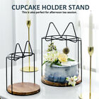 1-Tier Stand Cupcake Cake Dessert Display Plate Birthday Weeding Party Rack SU
