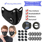 Reusable Face Mask Washable Activated Carbon Filter Pads With Breathing Valve