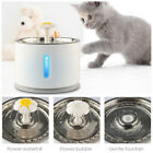 Stainless Steel Cat Drinking Bowl 2.4L Pet Water Fountain or Filters or Pump
