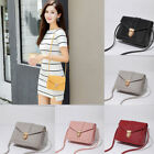 Mini Casual Shoulder Bag Pu Leather Small Square Pack Wallet Handbag