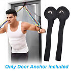 1/5pcs Fitness Resistance Bands Over Door Anchor Elastic Band Training Exercise!