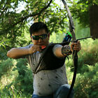 """Takedown Recurve Bow 57"""" Recurve Hunting Bow 40lb Draw Weight Right Left Handed"""