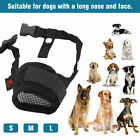Kyпить Pet Dog Adjustable Bark Bite Mesh Mouth Muzzle Cover Grooming Anti Stop Chewing на еВаy.соm