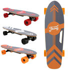 ANCHEER Electric Skateboard Power Motor Cruiser Maple Long Board with Remote  image