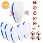 6X Ultrasonic Plug-In Pest Repeller Deter Mouse Mice Rat Spider Insect Repellent