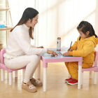 Kyпить Plastic Kids Table And 2 Chairs Set For Boys Or Girl Toddler Safe Furniture USA на еВаy.соm